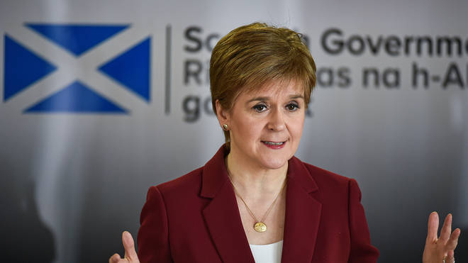 Nicola Sturgeon has already recommended for people to cover their faces in public