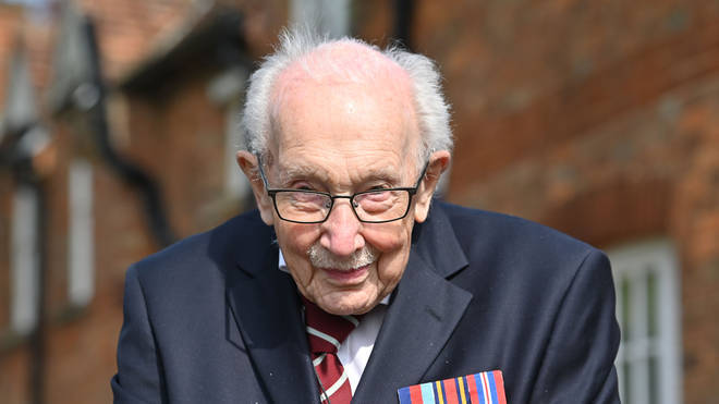 Captain Tom Moore has been made an honorary colonel to mark his 100th birthday