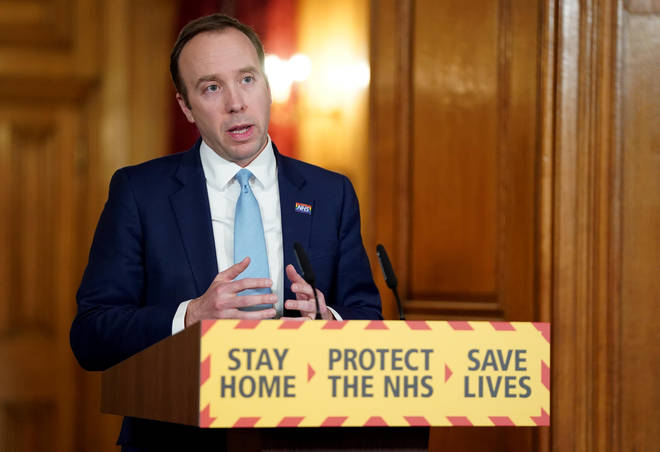 "The Health Secretary described the progress as ""promising"""