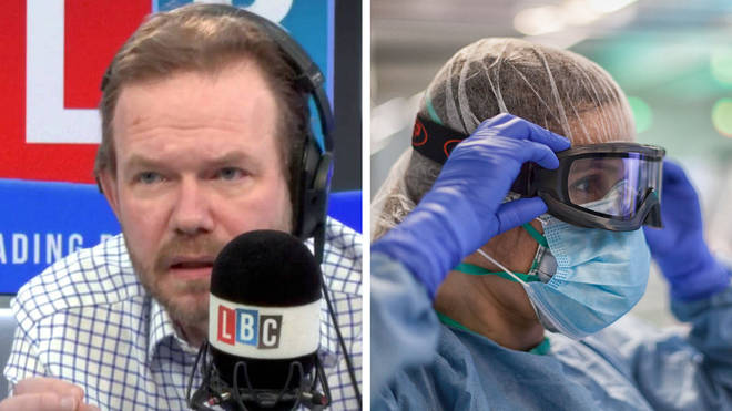 James O'Brien heard this powerful call from a nurse on PPE