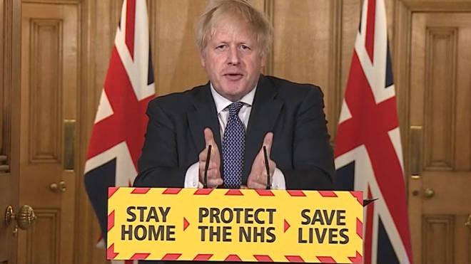 Mr Johnson recently recovered from coronavirus
