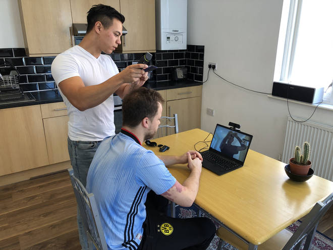 The online barber service said they are currently the  UK's busiest barber