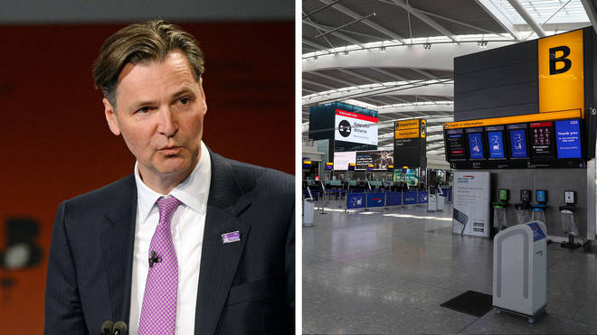 The boss of Heathrow says social distancing won't work at airports