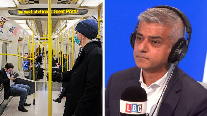 Sadiq Khan reveals we will have to wear facemasks on public transport and in shops