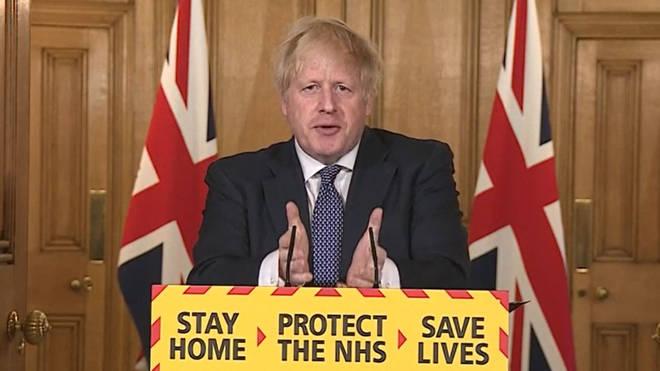 """Boris Johnson claimed yesterday we were """"past the peak"""" of coronavirus"""