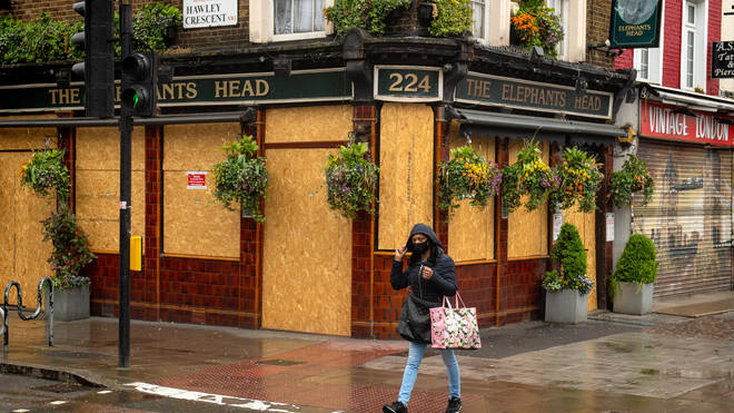 Half of UK pubs may never open again