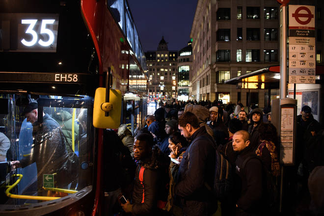Buses and trains are an area of concern for easing lockdown
