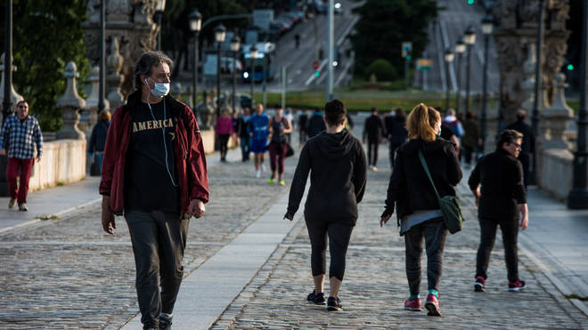 People will also be required to wear face masks on public transport