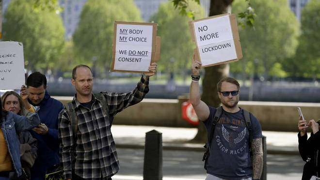 "Others held signs saying ""my body, my choice"""