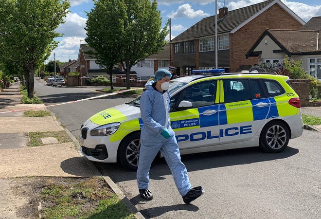 An 11-year-old boy was shot in a house in Upminster