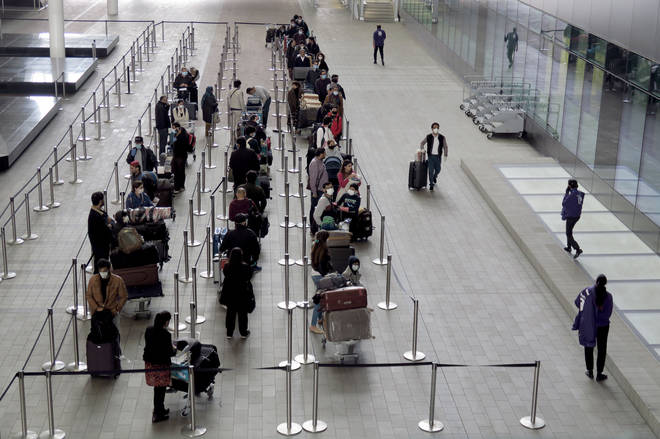 Airport queues would need to be much longer