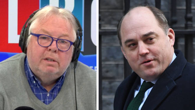Nick Ferrari spoke to Ben Wallace about how the military are helping with the coronavirus crisis