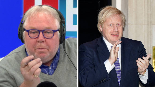 Nick Ferrari spoke to David Wooding, the only journalist to interview Boris Johnson since he recovered