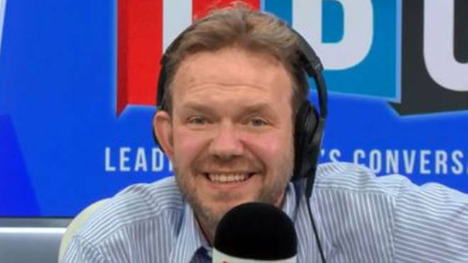James O'Brien loved speaking to Patrick and Cynthia