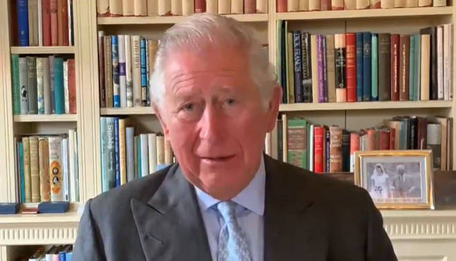 The Prince of Wales has been working via video conferencing during the coronavirus lockdown