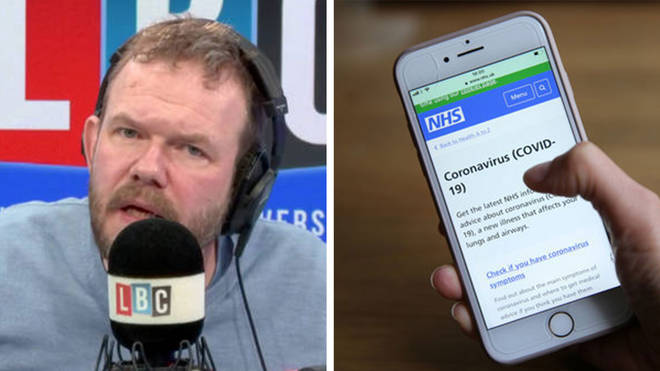 James O'Brien made this fascinating point about the new NHSX coronavirus app