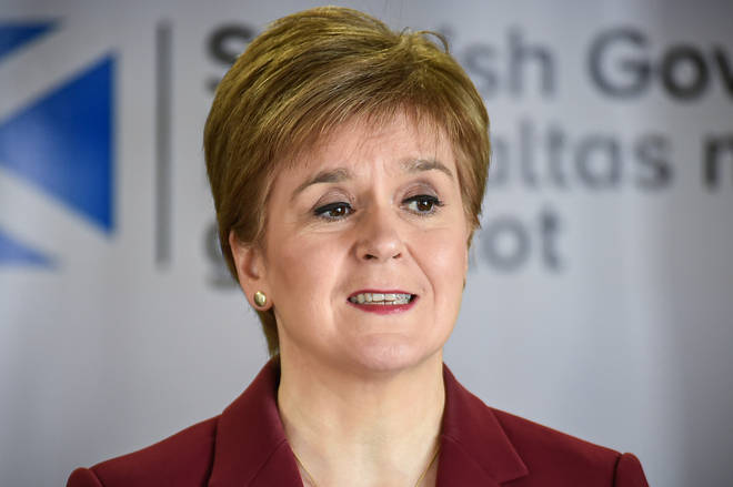 Nicola Sturgeon has mapped out Scotland's plan for easing
