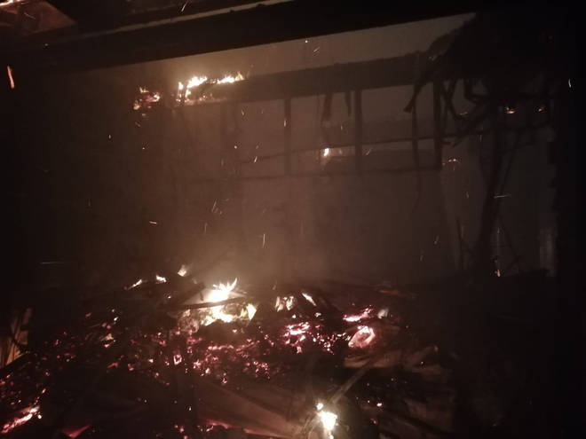 LBC Exclusive: Photos From Inside The Gutted Belfast Primark