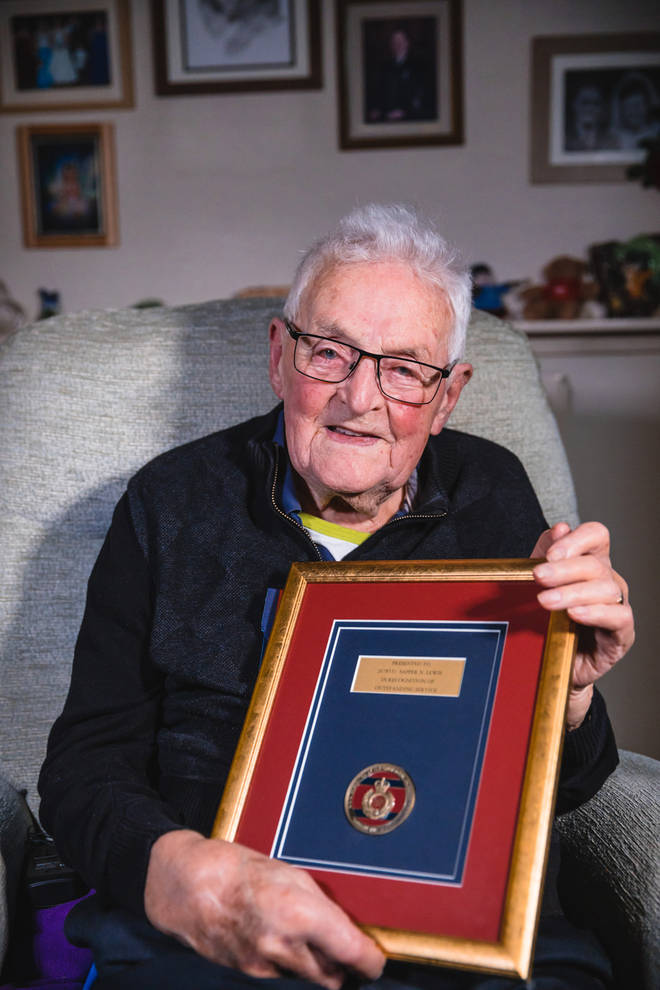 Norman was awarded further medals thanks to the armed forces charity Ssafa