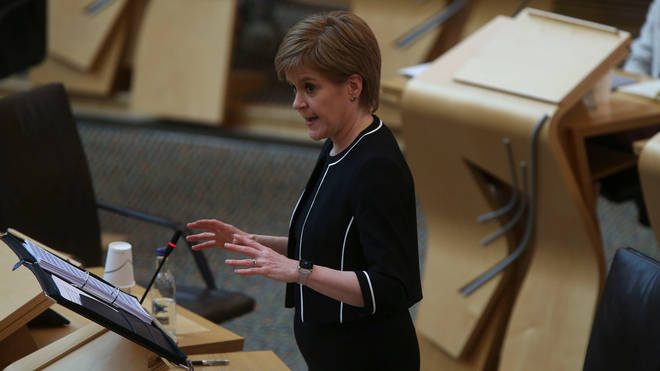 """File photo: The First Minister said she """"could not"""" say that reopening schools """"would be a safe thing to do... looking at the evidence I have now"""""""