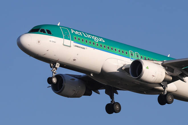 Aer Lingus has been criticised over lack of social distancing on flights