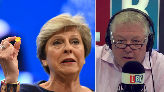 Nick Ferrari discussed Theresa May's Conference Party speech