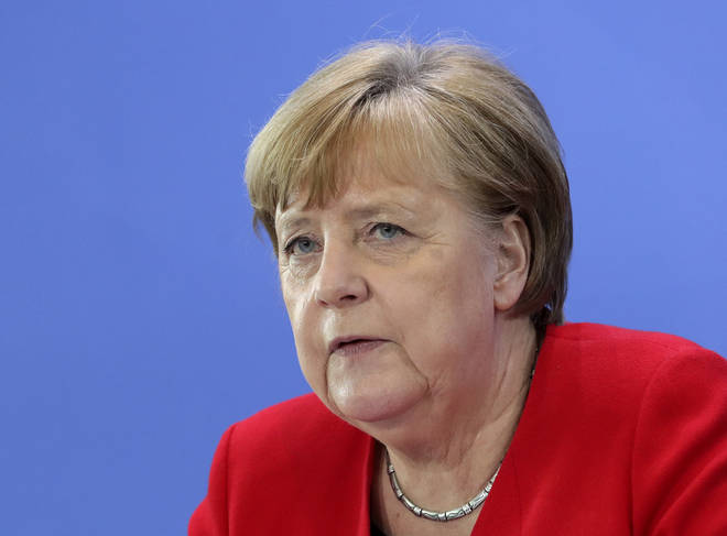 Chancellor Angela Merkel made the announcement on Wednesday