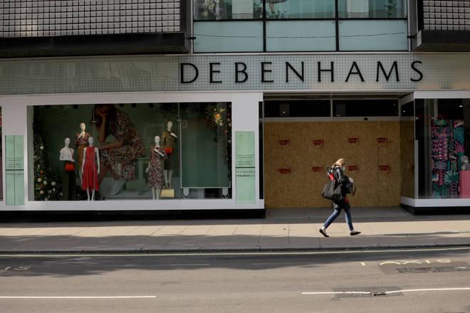 Debenhams is set to close five stores