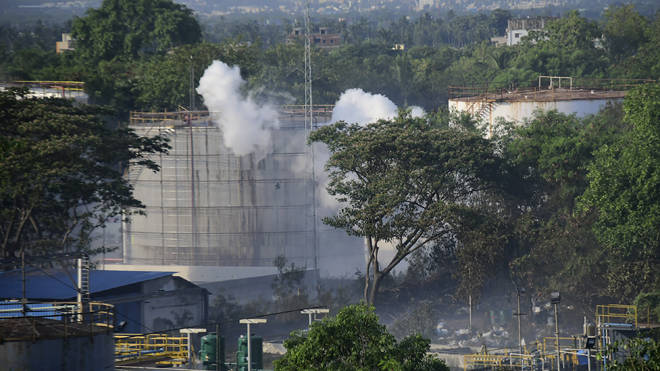 At lease 11 people were killed in the chemical leak