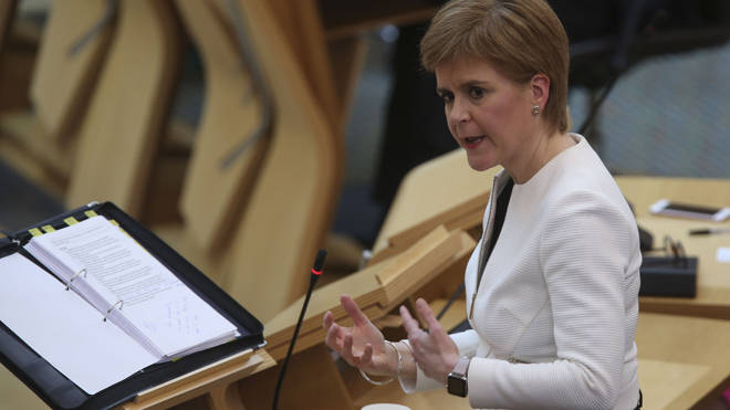 Nicola Sturgeon extended Scotland's lockdown but said more details will emerge later today