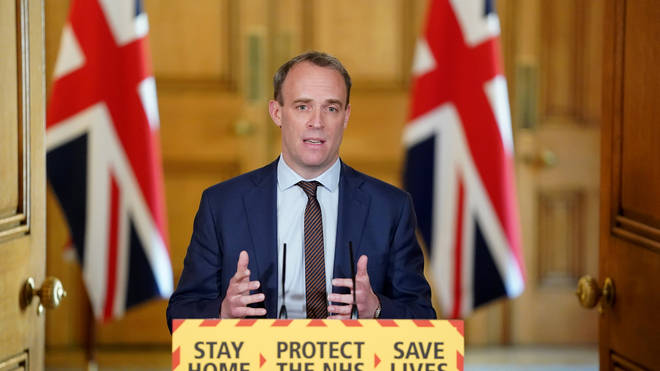 Dominic Raab has warned any changes to the lockdown will be limited