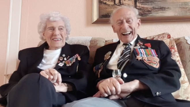 Alan and Edna Gullis have been married for 76 years
