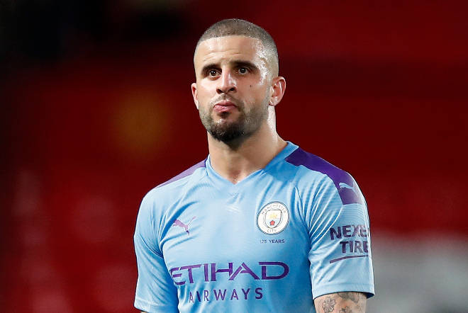 Manchester City footballer Kyle Walker claimed he is being harassed