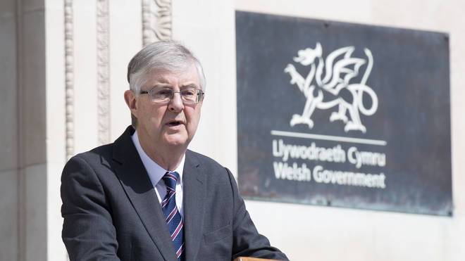 Welsh First Minister Mark Drakeford has extended Wales' lockdown