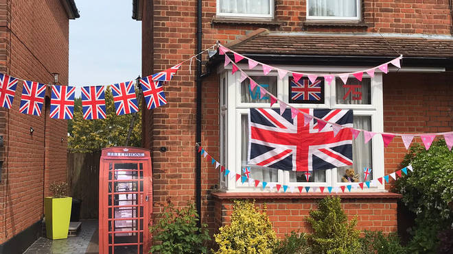 One house in Brentwood went all-out to mark the special day