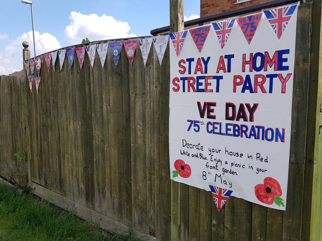 Social distancing hasn't stopped the Blitz spirit