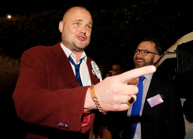 Al Murray told LBC there is a lot the UK can learn from WWII