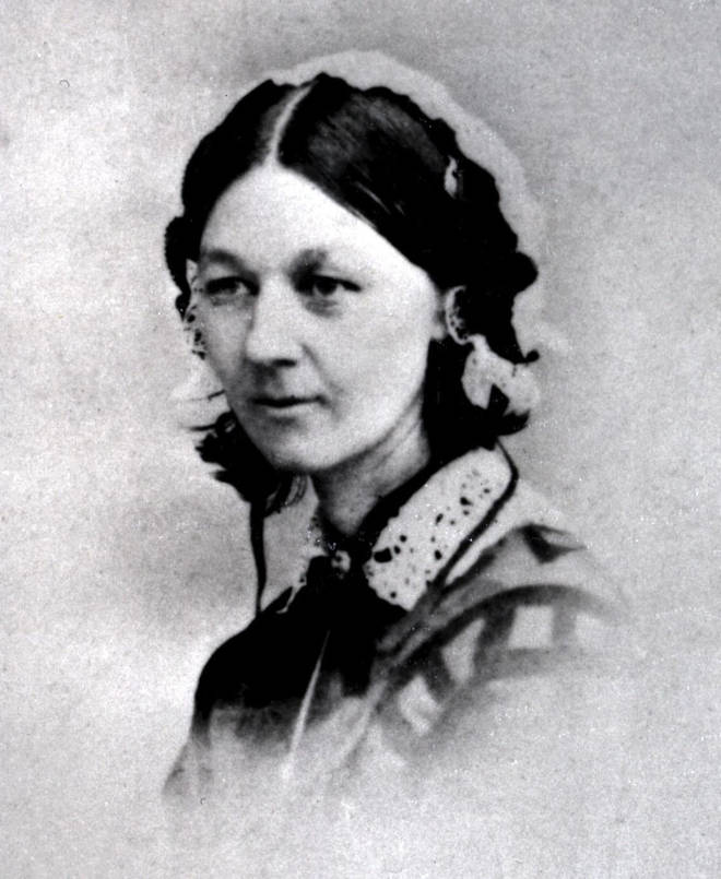Florence Nightingale, famous for her efforts to improve conditions for the wounded during the Crimean War.