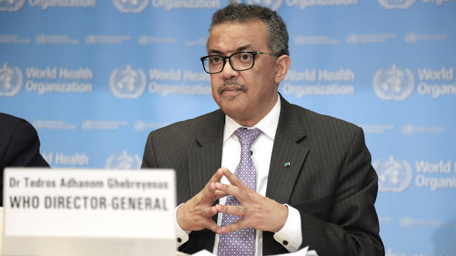 The WHO chief Dr Tedros has denied the reports
