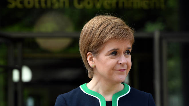 The First Minister made the announcement on Sunday