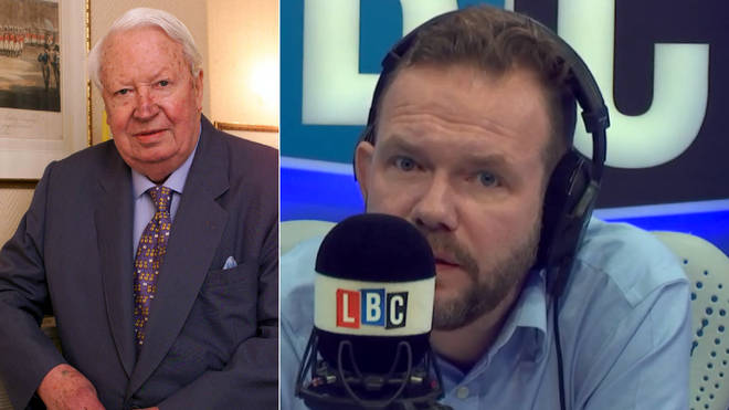 James O'Brien discussed the police report on Sir Edward Heath