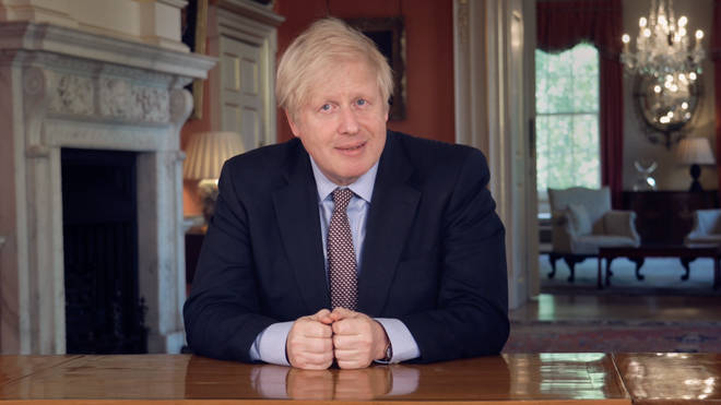 Boris Johnson announced the lockdown would be extended