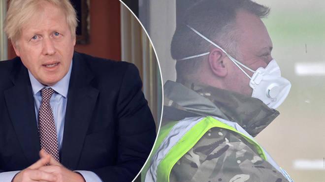 Boris Johnson explains who can work under new lockdown rules