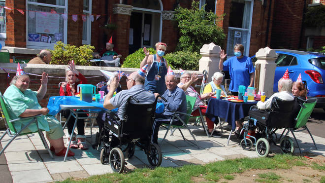 Care home staff are at higher risk
