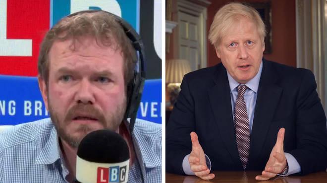 James O'Brien gave his assessment of Boris Johnson's lockdown speech