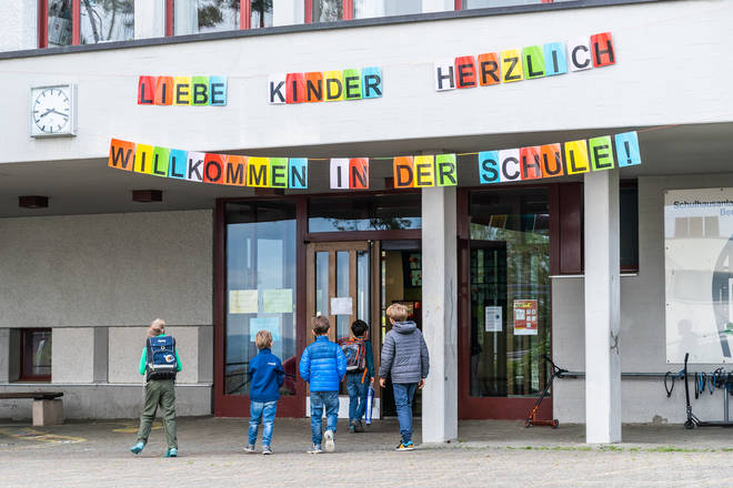 Countries including Germany have already started reopening primary schools