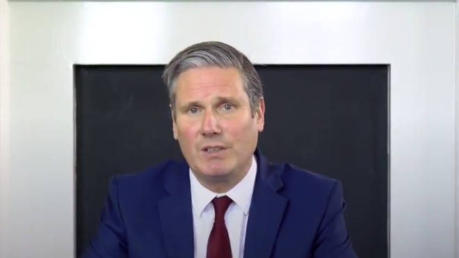 Labour leader Sir Keir Starmer has hit out at the government's roadmap out of lockdown