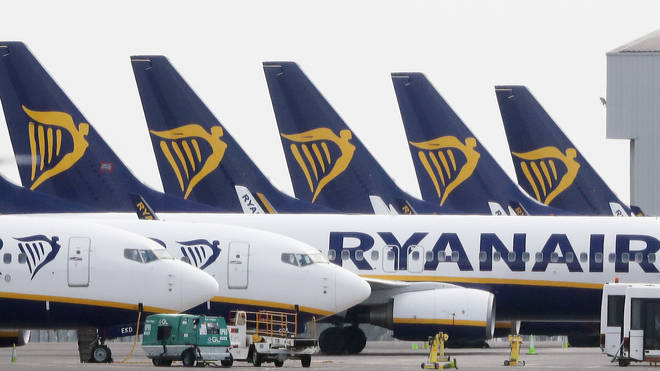Ryanair made the announcement on Tuesday