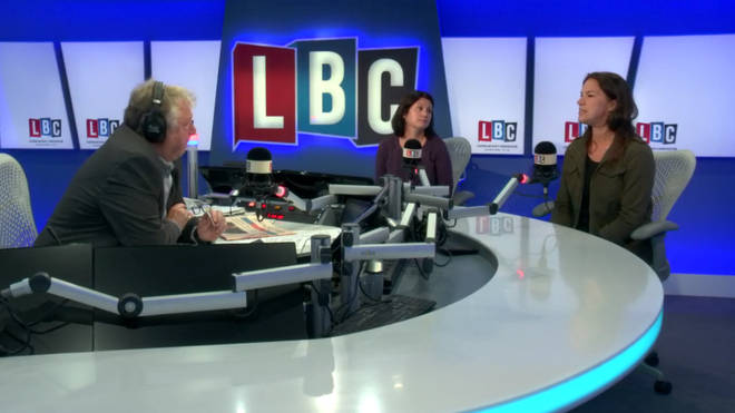 Ruth and Sam from Small Steps joined Nick Ferrari