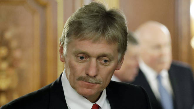 Dmitry Peskov confirmed he was receiving treatment for Covid-19 on Tuesday